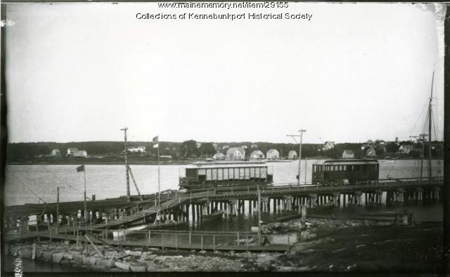 Cape Porpoise Trestle and Terminal, ca. 1900-1914