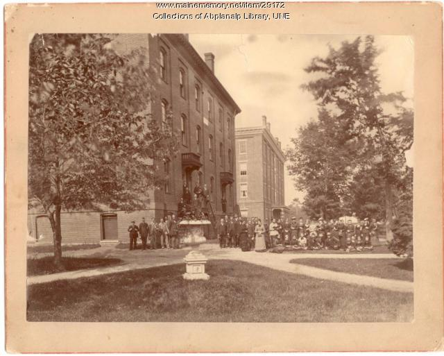 Class of 1880, Goddard Hall, Westbrook Seminary
