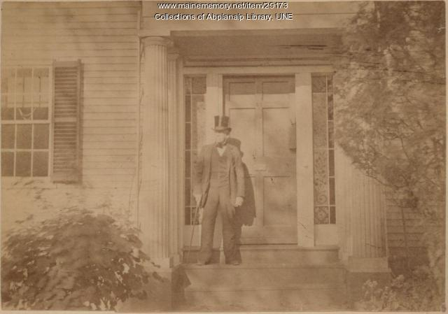Charles Fobes, Westbrook Seminary, ca. 1887