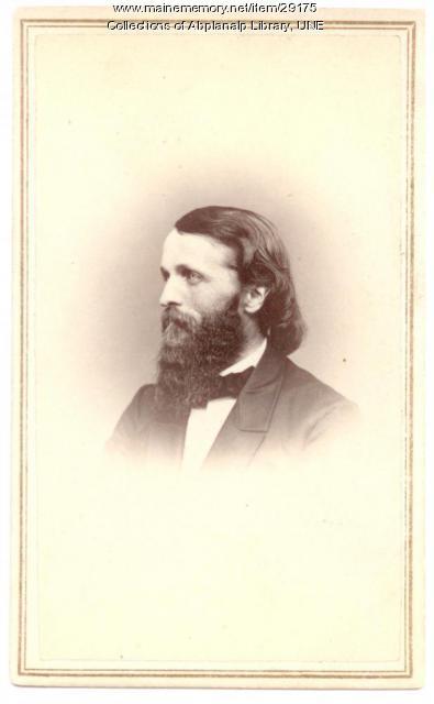 S. H. McCollester, Westbrook Seminary, ca. 1865