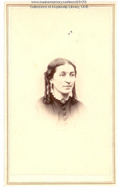 Sophia F. Knight McCollester, Westbrook, ca. 1865