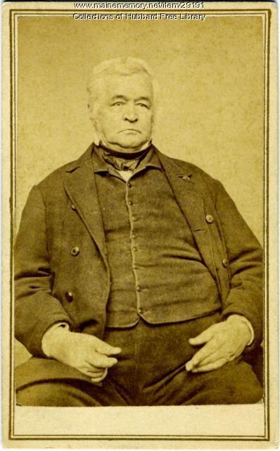 Dr. John Hubbard Jr., Hallowell, ca. 1850
