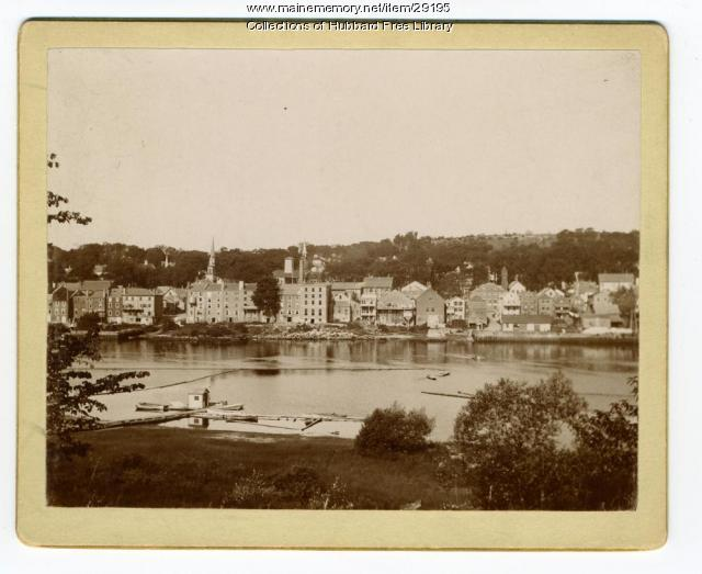 Hallowell viewed from Butternut Park, Chelsea, ca. 1890