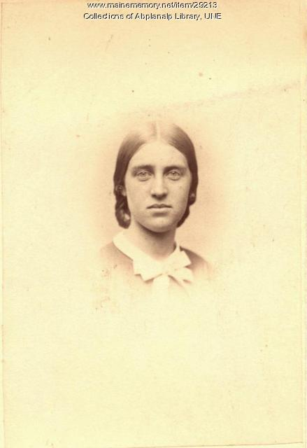 Julia S. Quinby, Westbrook Seminary, Class of 1863