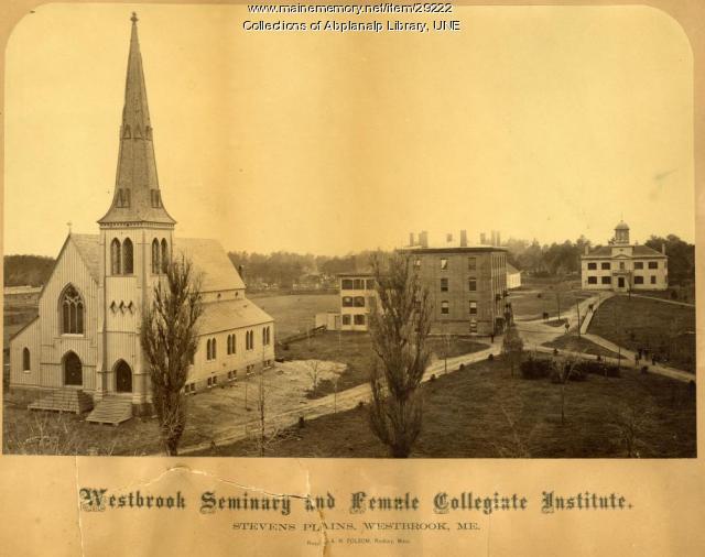 Westbrook Seminary and Female Collegiate Insitute, 1868