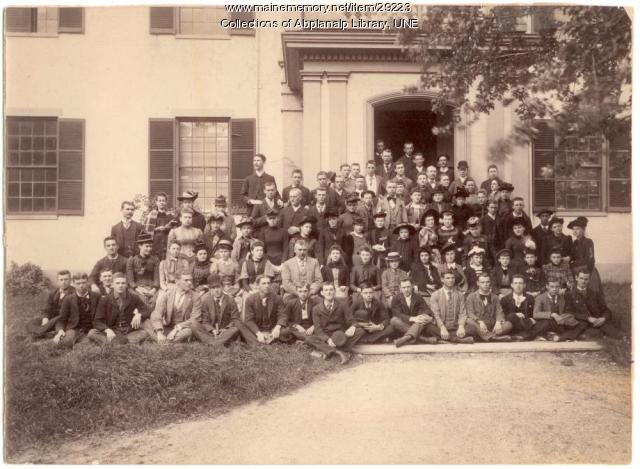 Teachers and students, Westbrook Seminary, 1892