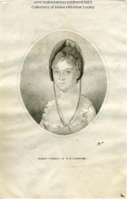 Zelia A. Lunt, Westbrook, ca. 1837