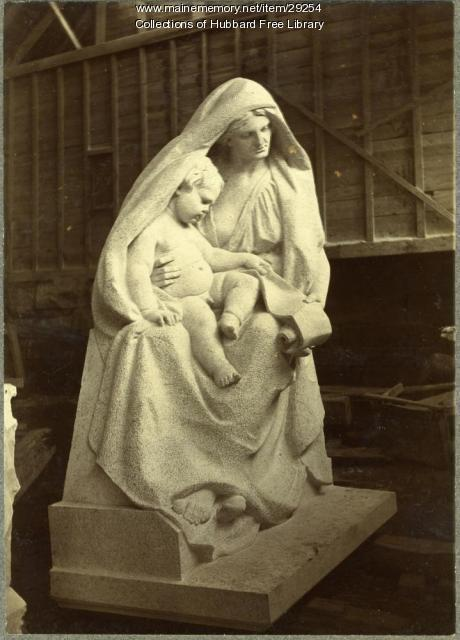Maternity, Hallowell Granite Works, ca. 1895