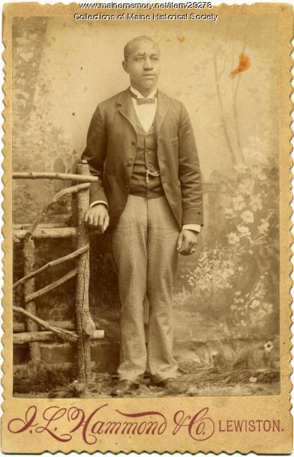 Unidentified man, Lewiston, ca. 1900