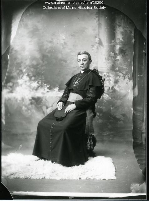 James A. Healy, Portland, ca. 1885