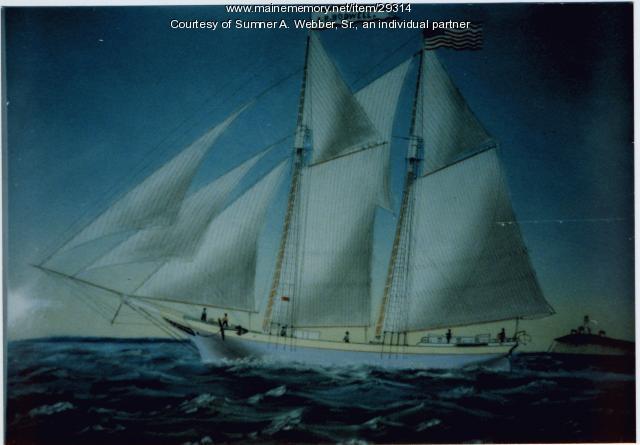 J.R. Bodwell, Granite Ship, Searsport, ca. 1900