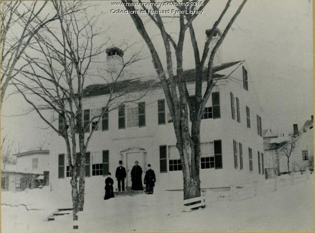 John Lord House, Hallowell, ca. 1879