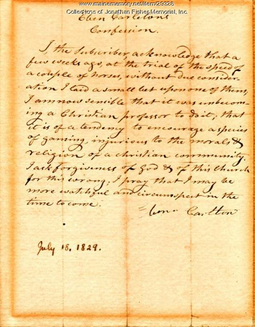 letter asking for forgiveness eben carleton letter seeking forgiveness blue hill 1829 17541 | 29328
