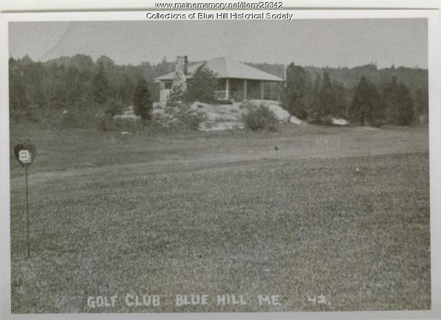 Parker Point Golf Club, Blue Hill, ca. 1912