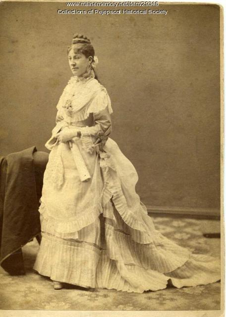 Susan Jane (Jennie) Dennison, Brunswick, ca. 1860