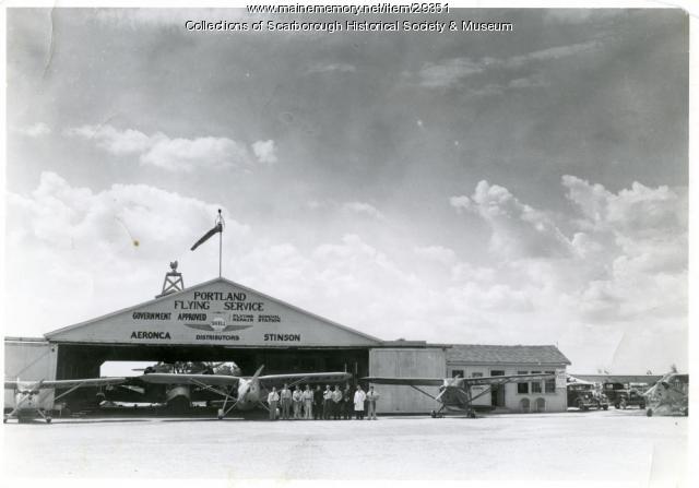 Portland Flying Service, Scarborough, ca. 1946