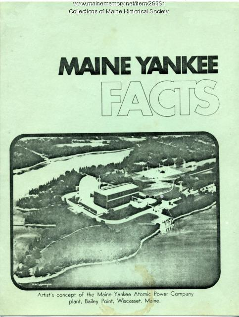 Maine Yankee Nuclear Power Plant pamphlet, ca. 1967