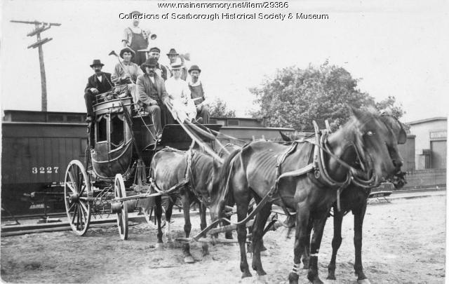 Concord Coach, Scarborough, ca. 1900
