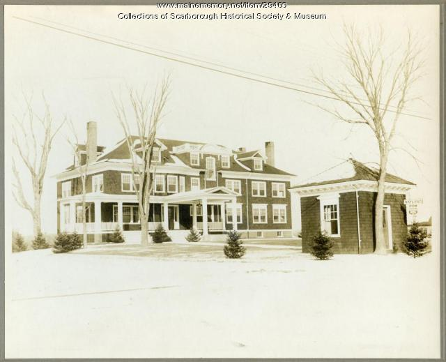 Wayland House, Scarborough, ca. 1912