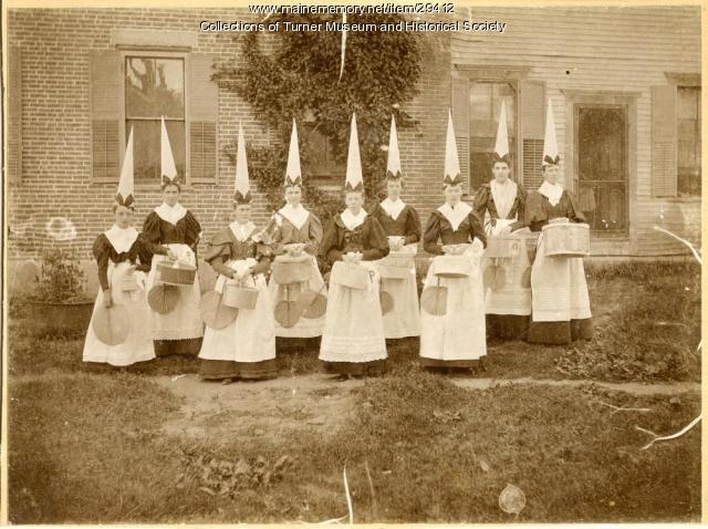 Peak Sisters entertainment, North Turner, 1895
