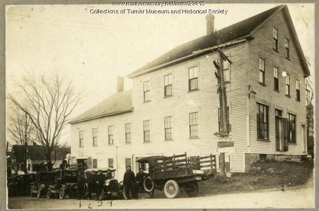 Roberts Block, Turner, ca. 1925