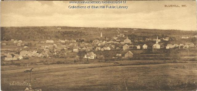 View of Blue Hill, ca. 1910