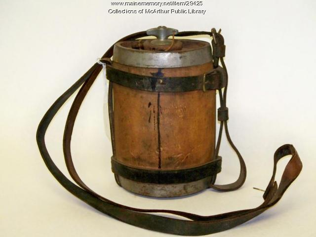 British army canteen, ca. 1888