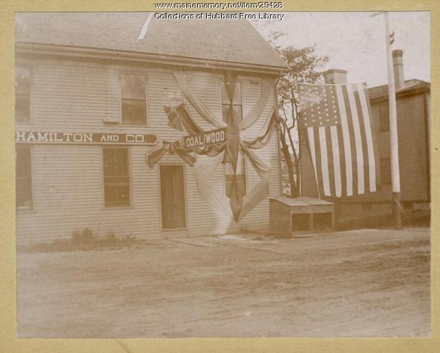 Hamilton Coal Company, Hallowell, ca. 1880