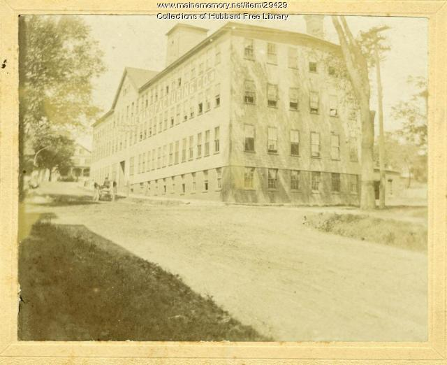 Johnson Shoe Factory, Hallowell, 1900