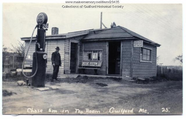 Chase-Em-In Tea Room, Guilford, ca. 1920