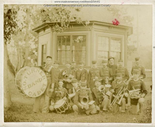 Cadet Band, North Turner, 1895