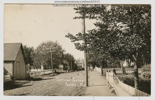 Summer Street, Lubec, ca. 1907