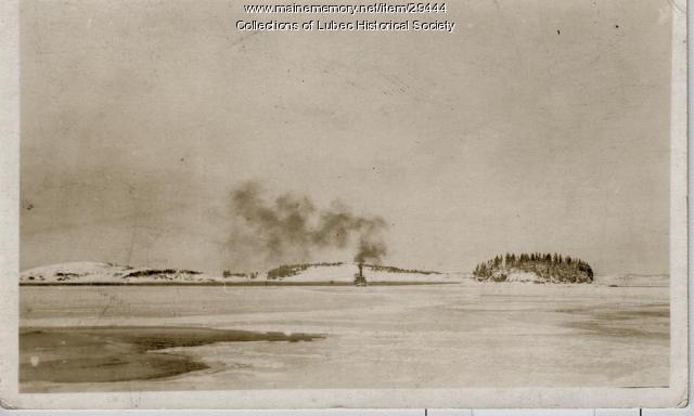 Johnson Bay, Lubec, ca. 1910