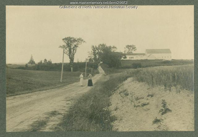 The Lane, North Yarmouth ca. 1900