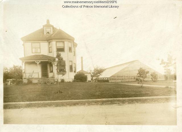 Frank Chase home, Main Street, Cumberland, ca. 1900