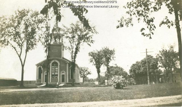 Congregational Church, Cumberland, ca. 1900