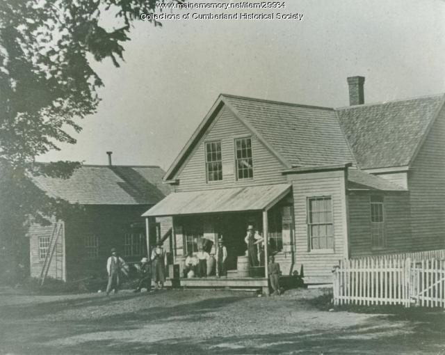 Blanchard Brothers Store, Main Street, Cumberland, ca. 1870