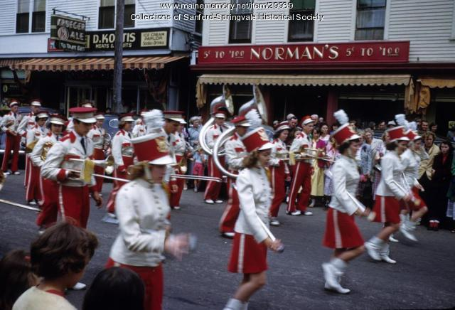 Sanford High School Marching Band, ca. 1955