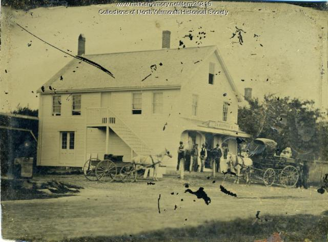 North Yarmouth Walnut Hill store, ca. 1876