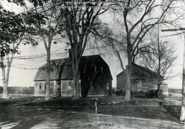 Drinkwater-Hicks House, North Yarmouth, ca. 1930