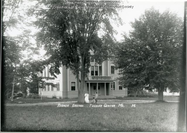 Turner Grange #23, Turner Center, ca. 1910
