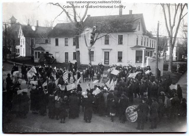 World War I Honor Roll, Guilford, ca. 1920