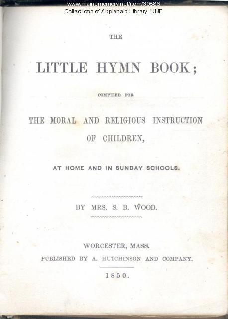 The Little Hymn Book, 1850