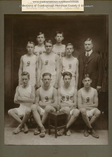 Scarborough High School Track Team, 1921