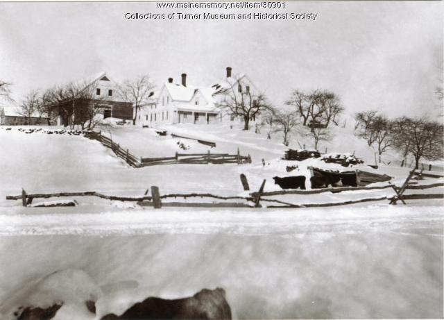 Upper Street Farm, Turner, 1901