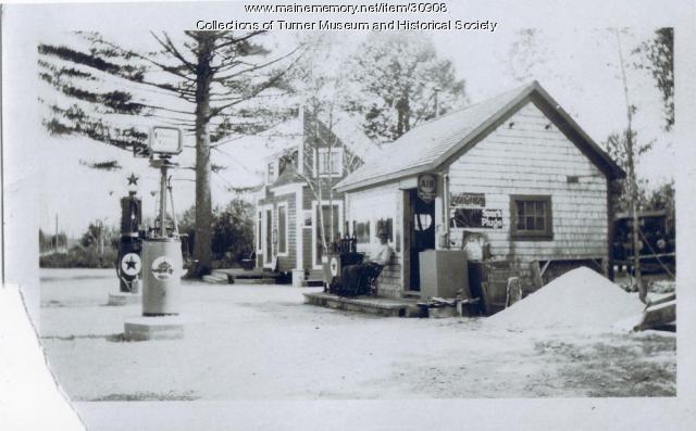 Lone Pine Restaurant, Turner, ca. 1925