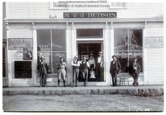 M. & J. Hudson Store, Guilford, ca. 1890