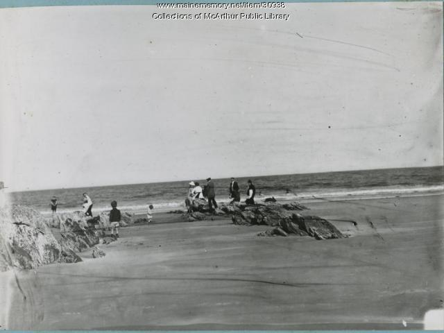 Googins Rocks, Old Orchard Beach, 1912