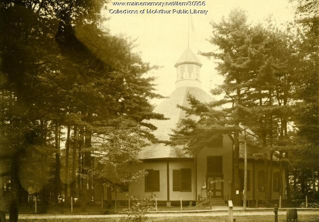 Tree Baptist Temple, Ocean Park, ca. 1910