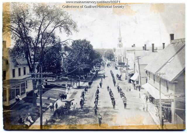 Memorial Day Parade, Guilford, 1911